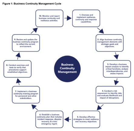 Business Continuity Management Lifecycle