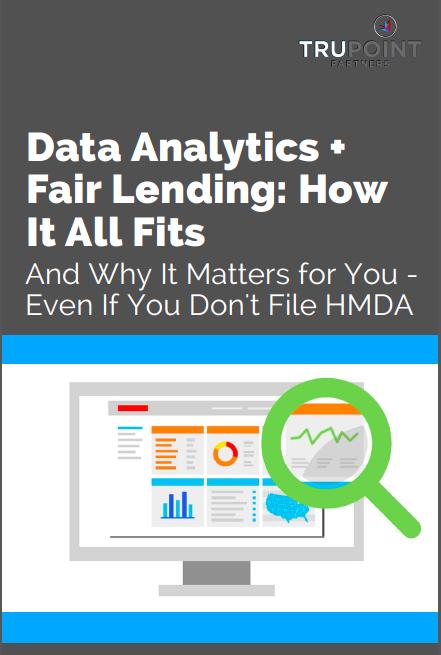 Data Analytics + Fair Lending: How It All Fits